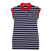 『小鱷魚童裝』連袖條紋洋裝(08號~16號)359302