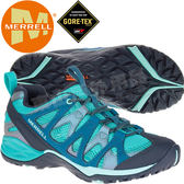 Merrell 15894 女GTX防水登山健行鞋 Siren Hex Q2 Gore-Tex運動鞋