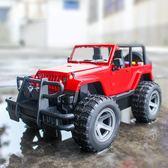 男孩大號仿真慣性越野車玩具耐摔兒童音樂早教玩具吉普車汽車模型  遇見生活