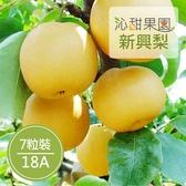 沁甜果園SSN.苗栗卓蘭新興梨(18A,7粒裝)﹍愛食網