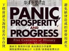 二手書博民逛書店【罕見】2014年出版 Panic, Prosperity, a