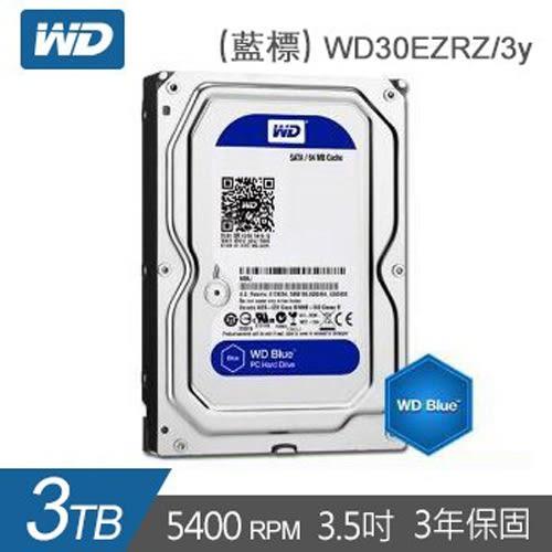 WD 藍標 3.5吋 3TB 內接硬碟