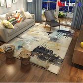 地墊-北歐式客廳長方形抽象地毯 120*160