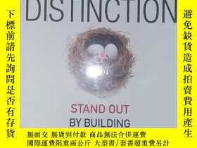 二手書博民逛書店career罕見distinction stand out by