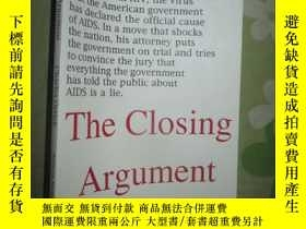 二手書博民逛書店The罕見Closing Argument:A Courtroo