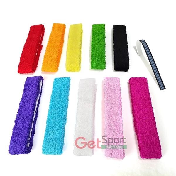 吸濕毛巾握把布一支用(台灣製/羽球拍握把帶/超吸汗/球具/羽毛球)