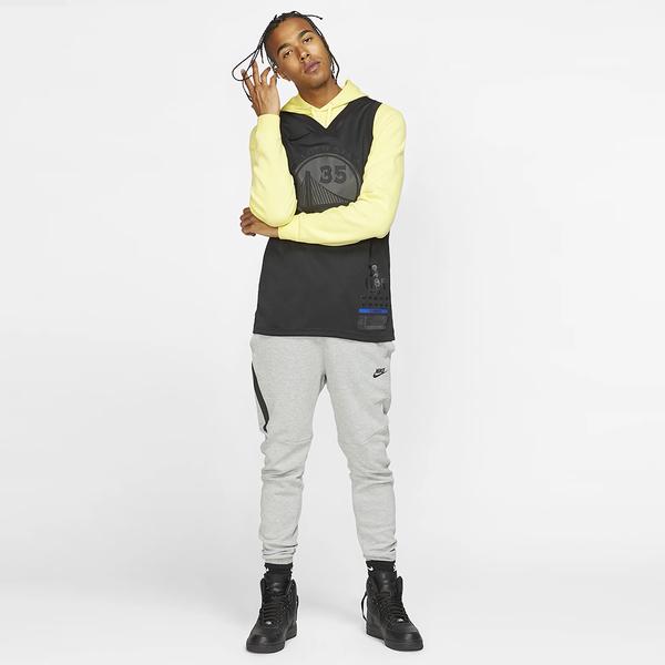 NIKE NBA MVP JERSEY DURANT 男裝 球衣 籃球 杜蘭特 金洲 勇士 限量 黑 【運動世界】 BQ5411-010