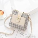 水桶包 小包包女新款潮韓版時尚質感斜挎女包簡約百搭單肩水桶包 快速出貨
