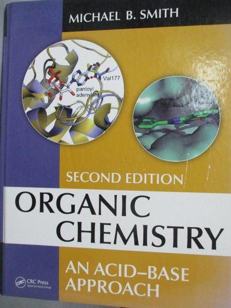 【書寶二手書T7/大學理工醫_YGC】Organic Chemistry: An Acid-base Approach_
