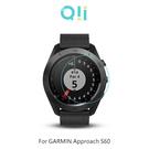 兩片裝 Qii GARMIN Approach S60 玻璃貼 鋼化玻璃貼 自動吸附 2.5D弧邊 手錶保護貼