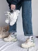 運動鞋 顯腳小老爹鞋女2021年新款流行女鞋子學生潮輕便運動鞋春季【快速出貨八折鉅惠】