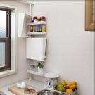 免打孔頂天立地廚房調料架收納架置物架角落架