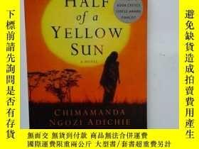 二手書博民逛書店HALF罕見OF A YELLOW SUN【457】【半輪黃日,