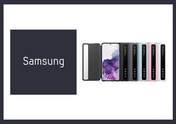 SAMSUNG Galaxy S20 Clear View 原廠透視感應皮套 (台灣公司貨)