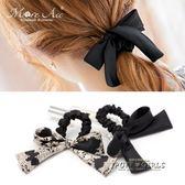 發圈套裝蝴蝶結頭繩韓國頭飾品簡約扎頭發飾皮筋日韓