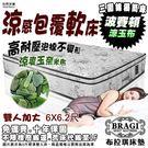 【布拉琪床墊】諾貝達 波賽頓 三線獨立筒床墊 玉石奈米纖維布 高耐壓軟料泡棉護背款
