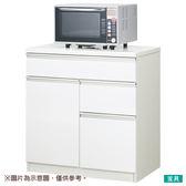 ◎廚房櫃台 CULY2 80CT WH NITORI宜得利家居