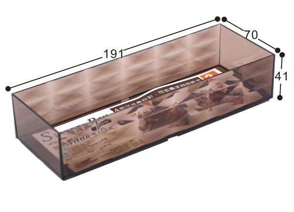 【好市吉居家生活】嚴選聯府KEYWAY~TLK-838 3號菱格整理盒 置物 收納