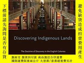 二手書博民逛書店Discovering罕見Indigenous Lands: T