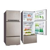 【三洋家電】475L三門變頻冰箱上冷藏下冷凍《SR-C475CV1A》(光耀銀) 含拆箱定位