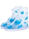 兒童雨鞋套防水雨天學生硅膠防滑加厚耐磨防雨男女可愛雨靴套 限時熱賣