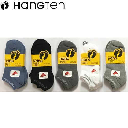 HANG TEN 船形襪-3雙裝(22~26cm)【愛買】