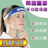 多功能高品質全臉部防護面罩 抗疫防飛沫 6入一組