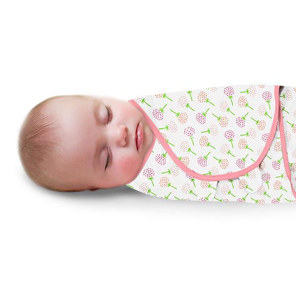 《美國Summer infant》聰明懶人育兒包巾-粉漫花朵 ㊣原廠授權總代理公司貨