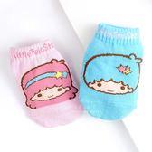 三麗鷗系列直版寶寶襪 雙子星 童襪 嬰兒襪 襪子