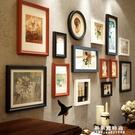實木照片牆相框掛牆客廳裝飾品臥室相片牆歐式房間相框牆免打孔 果果輕時尚NMS