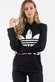 IMPACT Adidas Originals Trefoil Hoodie 帽T 黑 白 三葉草 男女 CE2408
