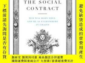 二手書博民逛書店盧梭:社會契約論罕見英文原版 The Social Contract JeanY21066 Jean-Jacq