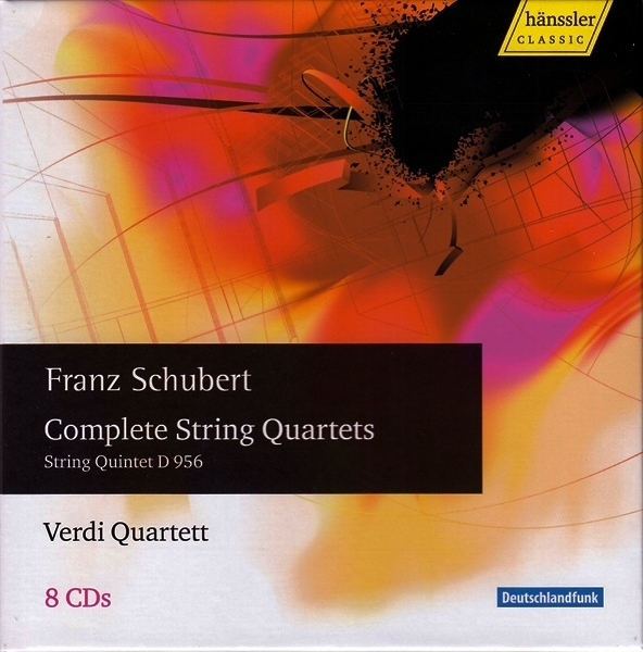 【停看聽音響唱片】【CD】Franz Schubert  Complete String Quartets - String Quintet D 956