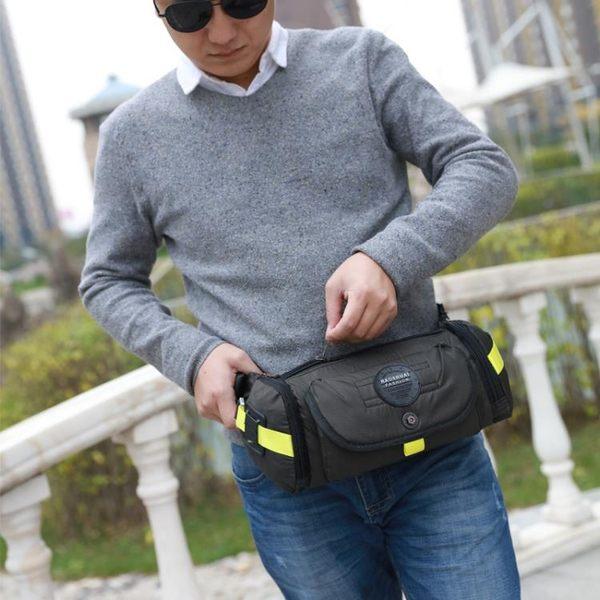 戰術防水斜背包 戶外腰包大容量單肩側背包《印象精品》e343