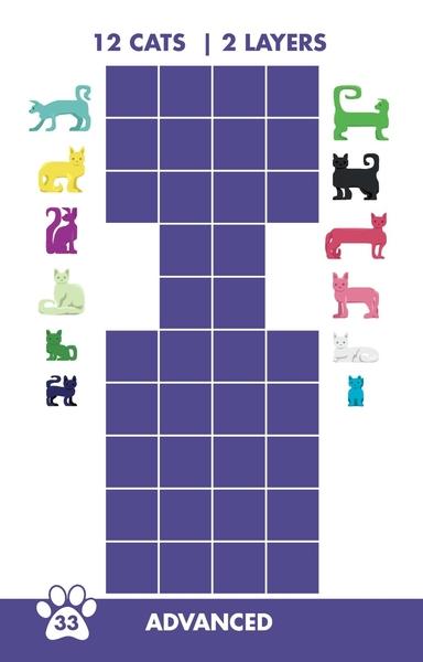 [楷樂國際] 貓咪拼拼 Cat Stax #Brainwright 桌遊 益智遊戲