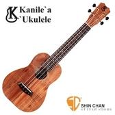 Kanile'a 卡妮蕾亞 K-1 Concert 23吋 夏威夷相思木 Koa 全單板 / 附 Kanile'a K1 C Ukulele 原廠琴盒