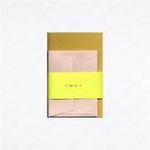 AJIGAMI LETTERS/BAKUSYU SUYAKI 迷你信紙信封組【Yamamoto Paper】
