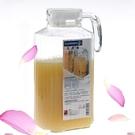 降價兩天 樂美雅1.7L超大容量耐高溫涼水壺扎壺果汁壺透明玻璃冷水壺裝水壺