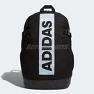 adidas 後背包 Bow Bos Backpack 男女款 黑 白 大Logo 【PUMP306】 DW4276
