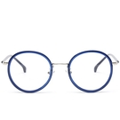 鏡架(圓框)-復古潮流時尚精選男女平光眼鏡6色73oe35[巴黎精品】