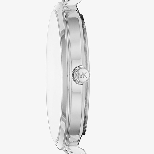 Michael Kors Jaryn 簡約晶鑽手鍊腕錶 MK4522-銀色/36mm