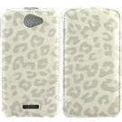 HTC One X /One X+  豹紋 下掀式皮套 防撞包角限定款◆贈送!HTC One X /X+下掀式皮套◆