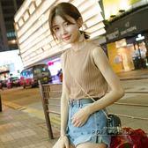 2018夏季韓版新款外穿內搭上衣打底吊帶百搭無袖T恤針織背心女