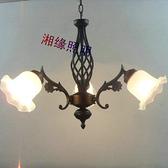 兒童房燈 吊燈 三頭