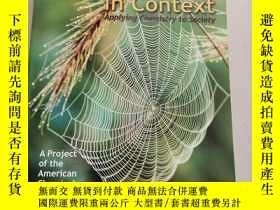 二手書博民逛書店Chemistry罕見in Context(環境中的化學)平裝庫存Y6318 Catherine H. Mid