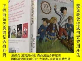 二手書博民逛書店the罕見famous five : 著名的五個.Y200392