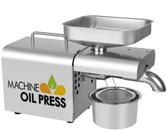 現貨-全自動不銹鋼榨油機-110V-自己榨的健康油-花生/芝麻/葵花籽
