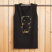 背心男夏季加肥加大尺碼新品棉質男裝汗衫寬鬆無袖T恤休閒運動砍袖S-8XL
