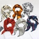 小領巾軟妹百搭小清新絲巾發帶絲帶三角巾韓國裝飾頭巾女 黛尼時尚精品