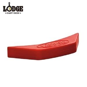 Lodge 矽膠隔熱柄套 紅色